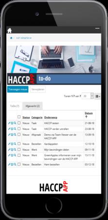 HACCP APP